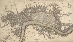 THE CITY GUIDE OR POCKET PLAN OF LONDON, WESTMINSTER And SOUTHWARK with the New Buildings to this Present Year 1764